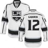 Los Angeles Kings #12 Marian Gaborik White Premier Away Jersey Cheap Online 48|M|50|L|52|XL|54|XXL|56|XXXL