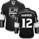 Youth Los Angeles Kings #12 Marian Gaborik Black Premier Home Jersey Cheap Online S|M|L|XLLarge
