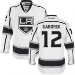 Youth Los Angeles Kings #12 Marian Gaborik White Authentic Away Jersey Cheap Online S|M|L|XLLarge