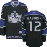 Youth Los Angeles Kings #12 Marian Gaborik Black Premier Third Jersey Cheap Online S|M|L|XLLarge