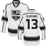 Los Angeles Kings #13 Kyle Clifford White Authentic Away Jersey Cheap Online 48|M|50|L|52|XL|54|XXL|56|XXXL