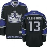 Los Angeles Kings #13 Kyle Clifford Black Authentic Third Jersey Cheap Online 48|M|50|L|52|XL|54|XXL|56|XXXL