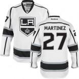 Los Angeles Kings #27 Alec Martinez White Authentic Away Jersey Cheap Online 48|M|50|L|52|XL|54|XXL|56|XXXL