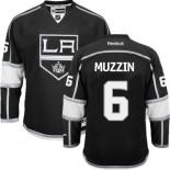 Los Angeles Kings #6 Jake Muzzin Black Authentic Home Jersey Cheap Online 48|M|50|L|52|XL|54|XXL|56|XXXL