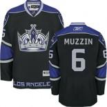 Los Angeles Kings #6 Jake Muzzin Black Authentic Third Jersey Cheap Online 48|M|50|L|52|XL|54|XXL|56|XXXL