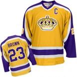 Los Angeles Kings #23 Dustin Brown Gold Premier Jersey Cheap Online 48|M|50|L|52|XL|54|XXL|56|XXXL