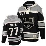 Los Angeles Kings #77 Jeff Carter Authentic Black Sawyer Hooded Old Time Hockey Sweatshirt Cheap Online 48|M|50|L|52|XL|54|XXL|56|XXXL