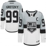 Wayne Gretzky Authentic Gray White 2015 Stadium Series Jersey - Los Angeles Kings #99 Clothing