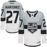 Los Angeles Kings #27 Alec Martinez Authentic White Grey 2015 Stadium Series Jersey Cheap Online 48|M|50|L|52|XL|54|XXL|56|XXXL