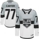 Los Angeles Kings #77 Jeff Carter Premier White Grey 2015 Stadium Series Jersey Cheap Online 48|M|50|L|52|XL|54|XXL|56|XXXL