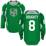 Drew Doughty Authentic Green Practice Jersey - Los Angeles Kings #8 Clothing