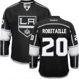 Los Angeles Kings #20 Luc Robitaille Authentic Black Home Jersey Cheap Online 48|M|50|L|52|XL|54|XXL|56|XXXL