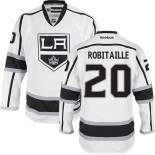 Los Angeles Kings #20 Luc Robitaille Premier White Away Jersey Cheap Online 48|M|50|L|52|XL|54|XXL|56|XXXL
