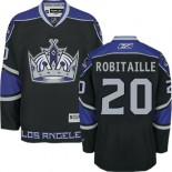 Los Angeles Kings #20 Luc Robitaille Authentic Black Third Jersey Cheap Online 48|M|50|L|52|XL|54|XXL|56|XXXL