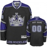 Reebok Los Angeles Kings Customized Black Home Authentic Jersey For Sale Size 48/M|50/L|52/XL|54/XXL|56/XXXL