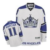Reebok Los Angeles Kings #11 Anze Kopitar Authentic White Third Jersey For Sale Size 48/M|50/L|52/XL|54/XXL|56/XXXL