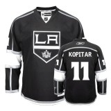 Reebok Los Angeles Kings #11 Anze Kopitar Authentic Black Home Jersey For Sale Size 48/M|50/L|52/XL|54/XXL|56/XXXL