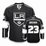Reebok Los Angeles Kings #23 Dustin Brown Authentic Black Home Jersey For Sale Size 48/M|50/L|52/XL|54/XXL|56/XXXL