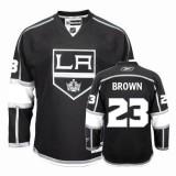 Reebok Los Angeles Kings #23 Dustin Brown Premier Black Home Jersey