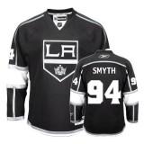 Reebok Los Angeles Kings #94 Ryan Smyth Authentic Black Home Jersey For Sale Size 48/M|50/L|52/XL|54/XXL|56/XXXL