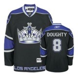 Reebok Los Angeles Kings #8 Drew Doughty Black Third Authentic Jersey  For Sale Size 48/M|50/L|52/XL|54/XXL|56/XXXL