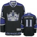 Reebok Los Angeles Kings #11 Anze Kopitar Black Third Authentic Jersey For Sale Size 48/M|50/L|52/XL|54/XXL|56/XXXL