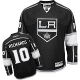 Reebok Los Angeles Kings #10 Mike Richards Black Home Authentic Jersey  For Sale Size 48/M|50/L|52/XL|54/XXL|56/XXXL