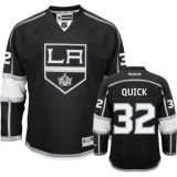 Reebok Los Angeles Kings #32 Jonathan Quick Black Home Authentic Jersey  For Sale Size 48/M|50/L|52/XL|54/XXL|56/XXXL
