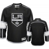 Reebok Los Angeles Kings Blank Black Home Authentic Jersey  For Sale Size 48/M|50/L|52/XL|54/XXL|56/XXXL