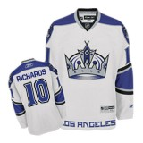 Reebok Los Angeles Kings #10 Mike Richards White Third Authentic Jersey  For Sale Size 48/M|50/L|52/XL|54/XXL|56/XXXL
