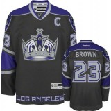 Reebok Los Angeles Kings #23 Dustin Brown Black Third Authentic Jersey  For Sale Size 48/M|50/L|52/XL|54/XXL|56/XXXL
