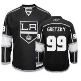Reebok Los Angeles Kings #99 Wayne Gretzky Black Home Authentic Jersey  For Sale Size 48/M|50/L|52/XL|54/XXL|56/XXXL