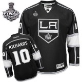 Reebok Los Angeles Kings #10 Mike Richards Black Home Premier With 2014 Stanley Cup Finals Jersey  For Sale Size 48/M|50/L|52/XL|54/XXL|56/XXXL