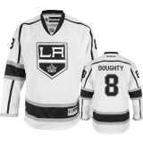 Reebok Los Angeles Kings #8 Drew Doughty White Road Premier Jersey  For Sale Size 48/M|50/L|52/XL|54/XXL|56/XXXL
