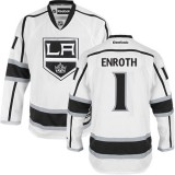 Los Angeles Kings #1 Jhonas Enroth Premier White Away Jersey Cheap Online 48|M|50|L|52|XL|54|XXL|56|XXXL