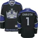 Los Angeles Kings #1 Jhonas Enroth Authentic Black Third Jersey Cheap Online 48|M|50|L|52|XL|54|XXL|56|XXXL