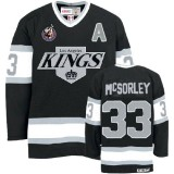 Marty Mcsorley Premier Throwback Black Jersey - CCM LA Kings #33 Clothing