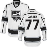 Los Angeles Kings #77 Jeff Carter Authentic White Away Jersey Cheap Online 48|M|50|L|52|XL|54|XXL|56|XXXL