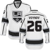 Los Angeles Kings #26 Slava Voynov Authentic White Away Jersey Cheap Online 48|M|50|L|52|XL|54|XXL|56|XXXL