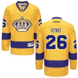 Los Angeles Kings #26 Slava Voynov Authentic Gold Third Jersey Cheap Online 48|M|50|L|52|XL|54|XXL|56|XXXL