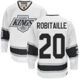 Los Angeles Kings #20 Luc Robitaille Premier White CCM Throwback Jersey Cheap Online 48|M|50|L|52|XL|54|XXL|56|XXXL