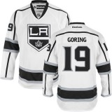 Los Angeles Kings #19 Butch Goring Authentic White Away Jersey Cheap Online 48|M|50|L|52|XL|54|XXL|56|XXXL