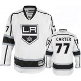 Youth Los Angeles Kings #77 Jeff Carter Authentic White Away Jersey Cheap Online Small/Medium|Large/Extra Large