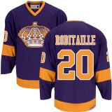 Los Angeles Kings #20 Luc Robitaille Premier Purple CCM Throwback Jersey Cheap Online 48|M|50|L|52|XL|54|XXL|56|XXXL