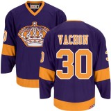 Los Angeles Kings #30 Rogie Vachon Authentic Purple CCM Throwback Jersey Cheap Online 48|M|50|L|52|XL|54|XXL|56|XXXL