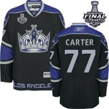 Youth Los Angeles Kings #77 Jeff Carter Authentic Black Third 2014 Stanley Cup Jersey Cheap Online Small/Medium|Large/Extra Large