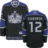 Youth Los Angeles Kings #12 Marian Gaborik Black Premier Third Jersey Cheap Online S|M|L|XLLarge