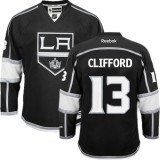 Los Angeles Kings #13 Kyle Clifford Black Authentic Home Jersey Cheap Online 48|M|50|L|52|XL|54|XXL|56|XXXL