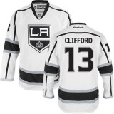 Los Angeles Kings #13 Kyle Clifford White Premier Away Jersey Cheap Online 48|M|50|L|52|XL|54|XXL|56|XXXL
