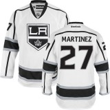 Los Angeles Kings #27 Alec Martinez Authentic White Away Jersey Cheap Online 48|M|50|L|52|XL|54|XXL|56|XXXL
